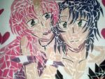 Athrun and Lacus- Mosaic by Songstress-of-ZAFT