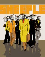 Sheeple by pseudo-manitou