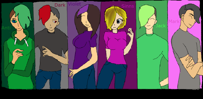 Group photo by VioletBishop13