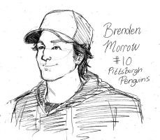#10 Brenden Morrow by zombiepencil