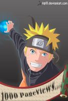 Naruto 1000 PageViews by kip13