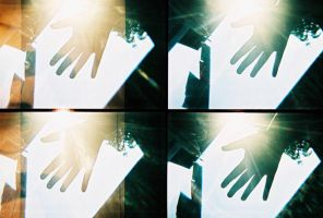hand against the light by 123sajeepney