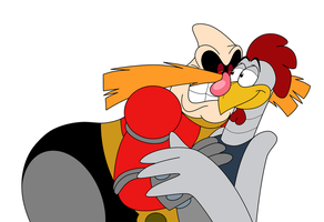 AoStH- Robotnik and Scratch by IsabellaPrice