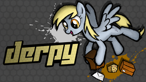 Fighting is Magic - Derpy by TheAljavis