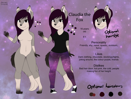 Claudia Reference 2014 by x-LittleKitsune-x