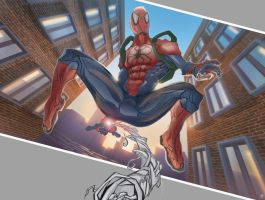 The Amazing Spider-man by huzzain