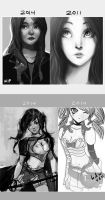 redraws by shengcai