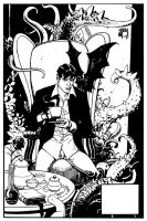 Dylan Dog pinup8 by NicolaMari-fan