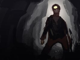 in the mines by Karollos