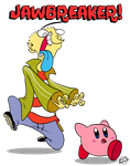 Ed meets Kirby by Edness-Madness