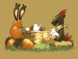 Tea Time by Sozor