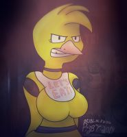 Chica from Five Nights at Freddy's ~10 Minutes by brsblackdog