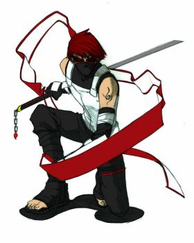ANBU Ryuichi Colored by SilentSpiderz