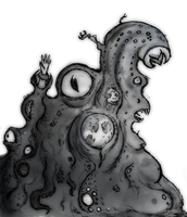 Shoggoth for 6D6Lovecraft by EmiliAlys