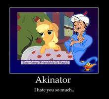 motivational poster Akinator by aguantegrimtales