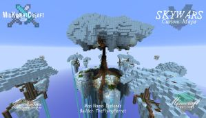 Icelands -  Skywars Map - 04 by TheFlyinFerret