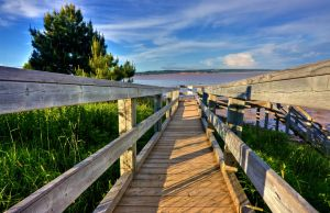 Hopewell Boardwalk - HDR by somadjinn