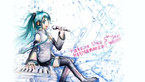 Happy Birthday Miku by Anomonny