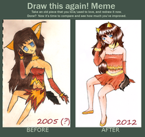 Draw it again 2005 - 2012 by Kuraiko-kyun