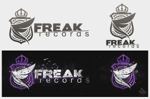 Freak Records - logo by DigitalDean