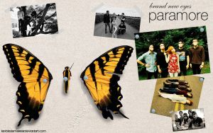 Paramore BNE Wallpaper by KeybladeMeister
