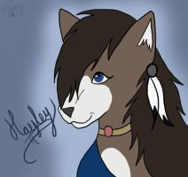 Hayley for MasterofWolves99 by Spazzel