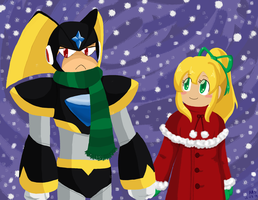 Contest Entry - Walking in the Snow by mandy-kun