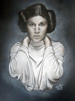 Princess Leia Star Wars by ADRIANSportraits