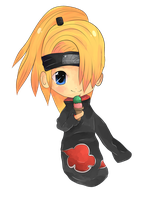Deidara AT by Mattizme123