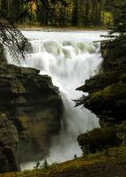 Athabasca Falls #4 by KRHPhotography