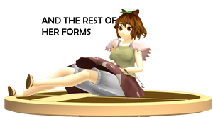 MMD Trophy: ETO Mamizou ver.1 by Rea-Usax
