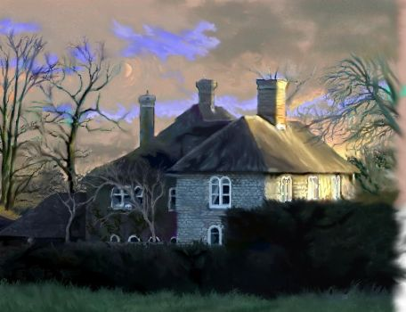 Travels in Albion I I - Lady of Rose Court by MHuwCarr