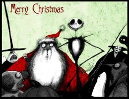 Nightmare Before Christmas by sillylittleboy