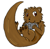 BDay Gift: voiced-otter by LykenZealot