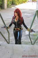 Black Widow Cosplay by Naomi-VonKreeps