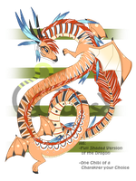 Dragon - Adoptable - Auction - Closed by Cliest