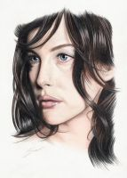 Liv Tyler Drawing Photoshopped by jimbo101
