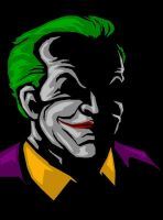 Nicholson Joker abstract by darknight7