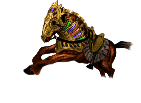 Magic - Warhorse by Ancheese
