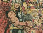 Simonson's Mighty Thor - 18x24 Comic Collage by flukiechic