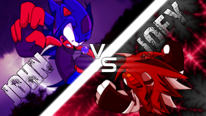 Crimson Thorns VS Violet Thunder by Dominic-Animations