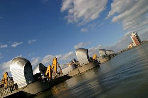 Thames Flood Barrier by Andrew-and-Seven