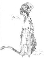 Nerri the Marbiter by Faullyn