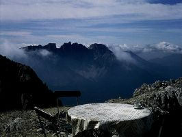 A coffee cup at 2700 meters by edelweiss26