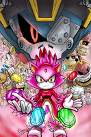 *COLORED* The Tides of Adventure by SailorMoonAndSonicX