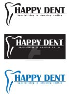 happy dent logo by AleksandarN