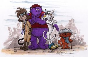 Catillac Cats by Phraggle