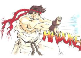 Hadoken by MikimusPrime