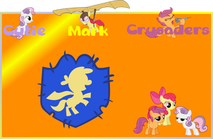 Cutie Mark Crusaders Banner by Ivan2294