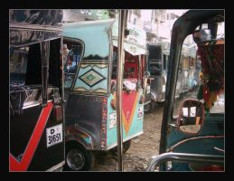 Rickshaws Rock by raheel07